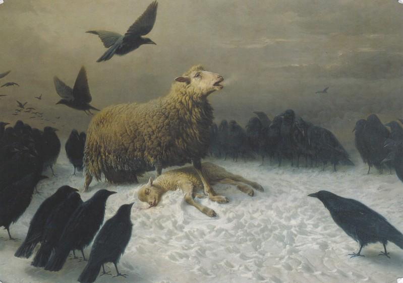 Anguish by August Friedrich Albrecht Schenck